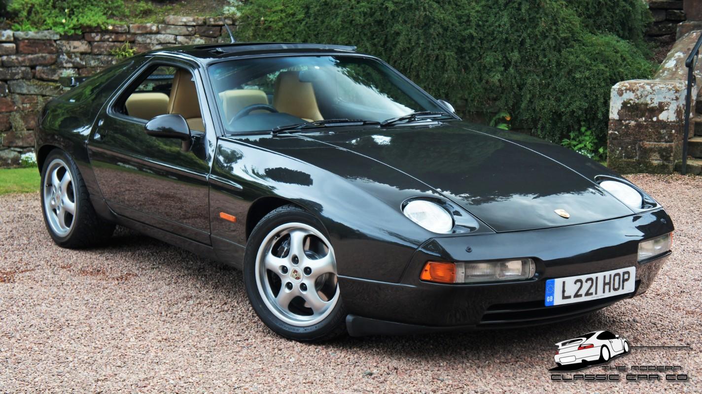 1994 porsche 928 gts auto rhd 83 000 miles superb history rare meteor black metallic immaculate tan hide
